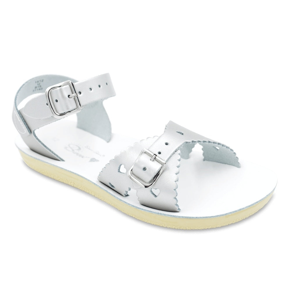 Sweetheart Silver Sandals
