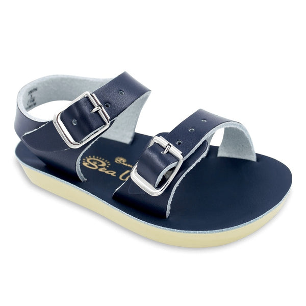 Navy Salt-Water Sandal
