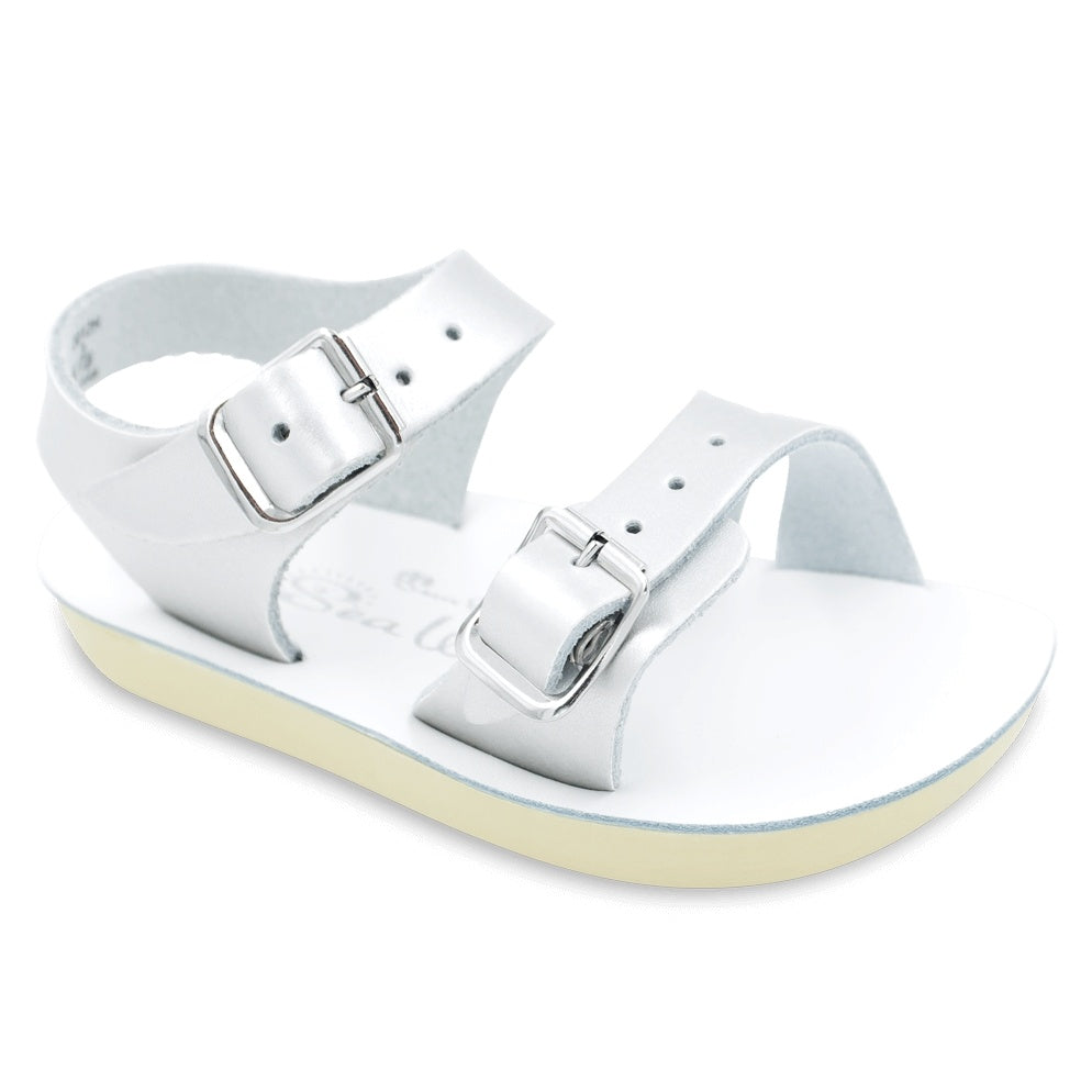Silver Salt-Water Sandal