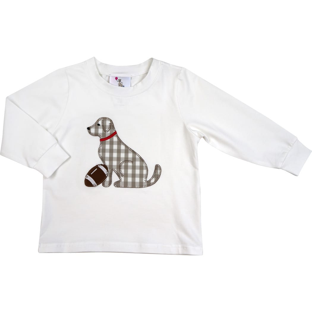 White Knit Lab Football Shirt