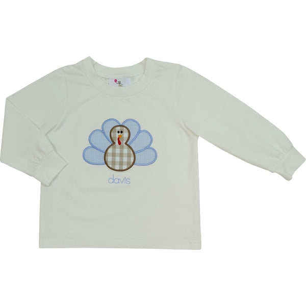 White Knit Turkey Shirt