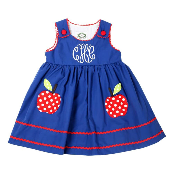 Appliqué Apple Tab Dress
