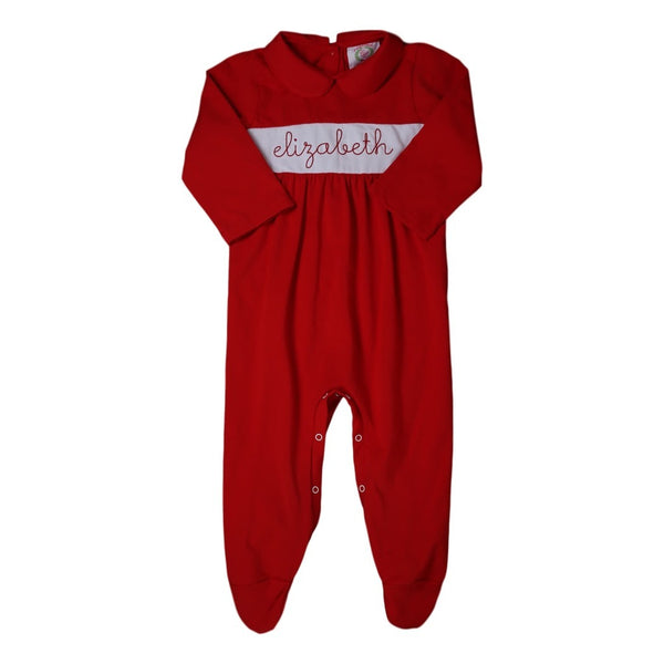 Girls Insert Footed Pajamas