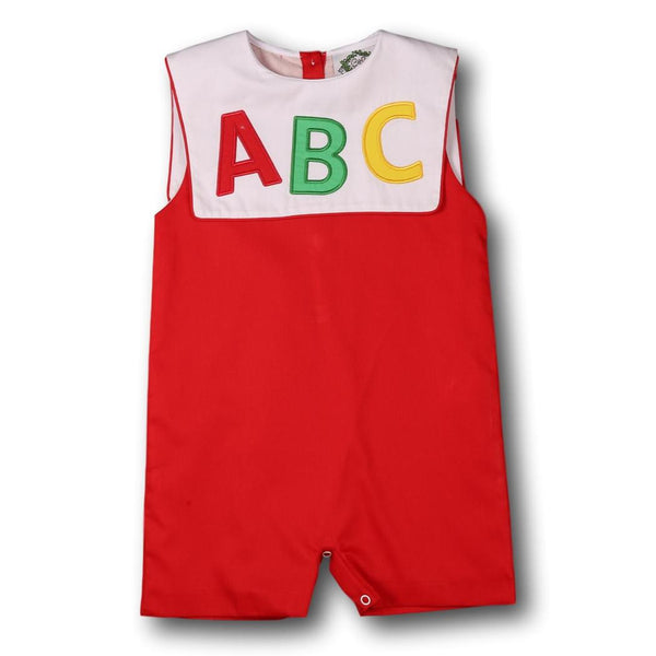 Red ABC Jon Jon