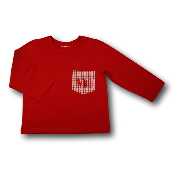 Red Knit Play Shirt