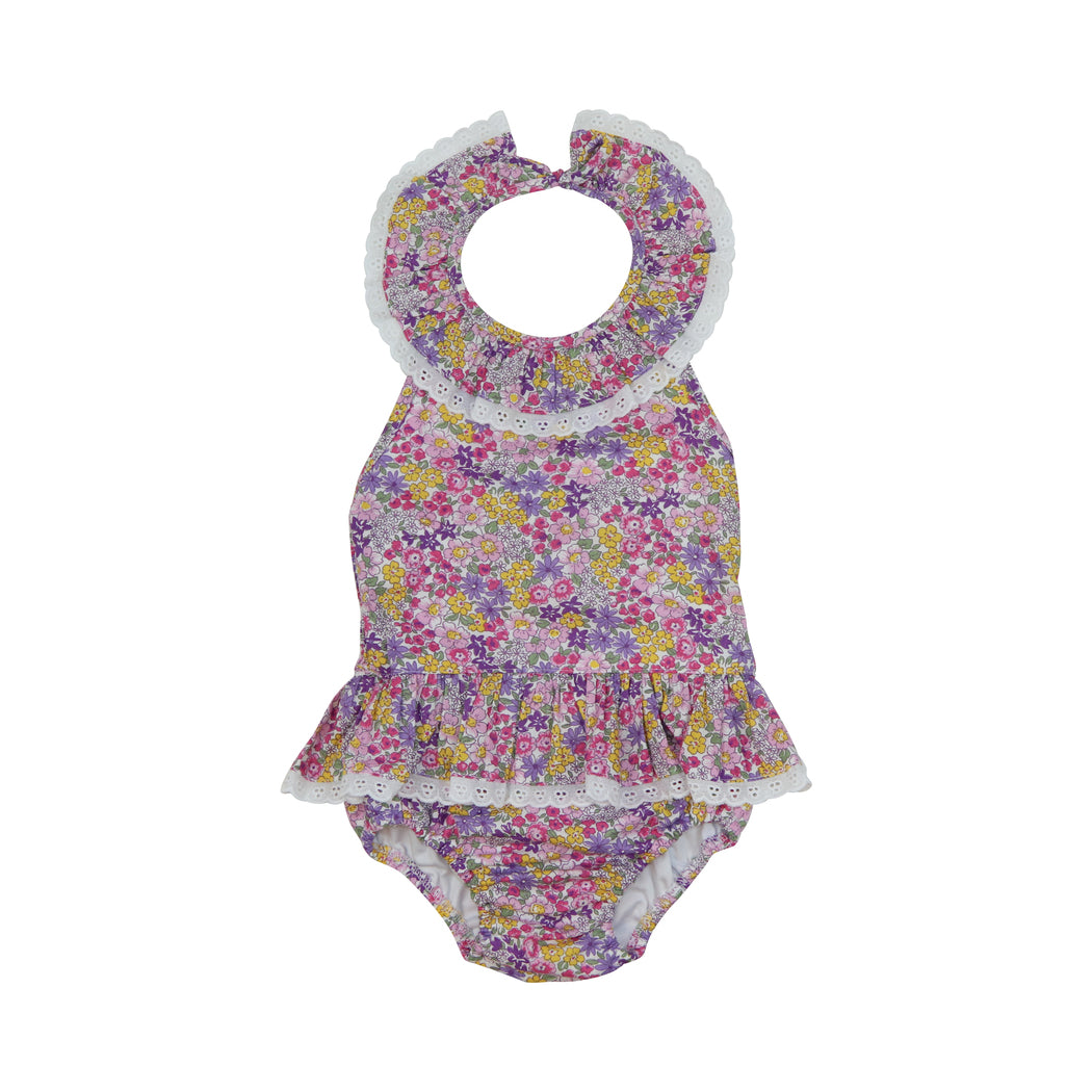 Pink and Lavender Liberty Swimsuit