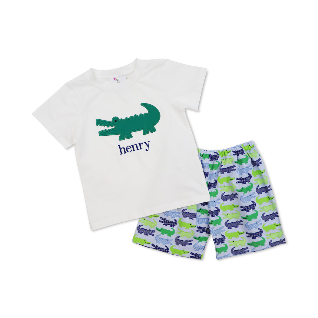 Alligator Short Set