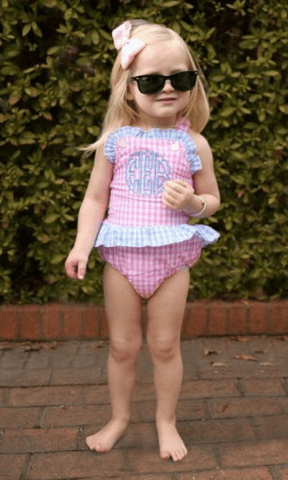 Girls One Piece Swimsuits at Eliza James Kids