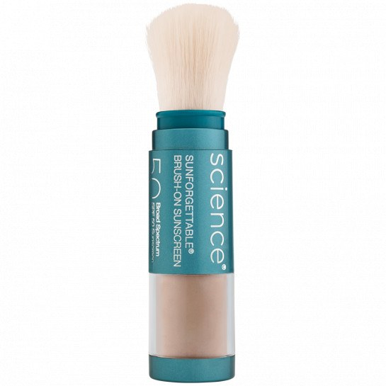 Tan- Sunforgettable® Total Protection™ Brush-On Shield SPF 50