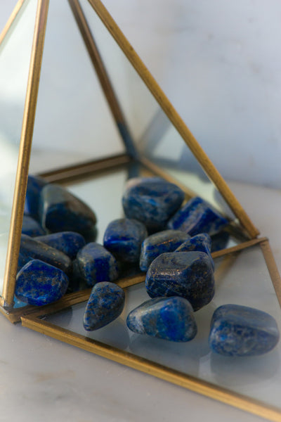 Tumbled Lapis Lazuli - Sacred Light Soundbaths and Crystals