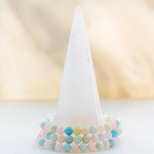 Beryl Medium  Bracelet - Sacred Light Soundbaths and Crystals
