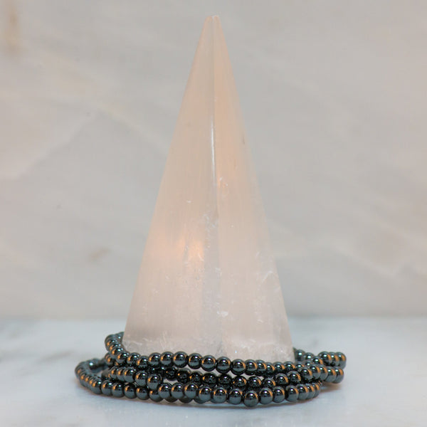 Hematite Dainty Bracelet - Sacred Light Soundbaths and Crystals
