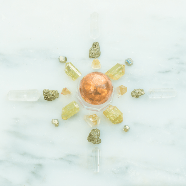 Abundance Crystal Grid Kit - Sacred Light Soundbaths and Crystals