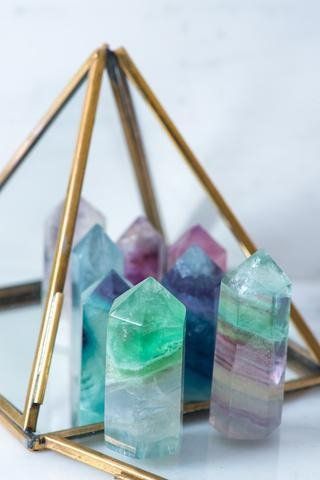 Fluorite Mini Generator - Sacred Light Soundbaths and Crystals