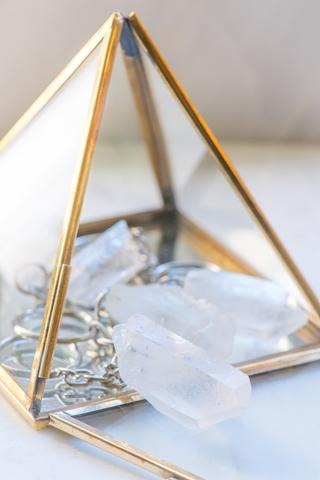 Clear Quartz Keychain - Sacred Light Soundbaths and Crystals