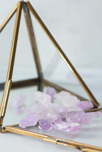 Natural Kunzite - Sacred Light Soundbaths and Crystals