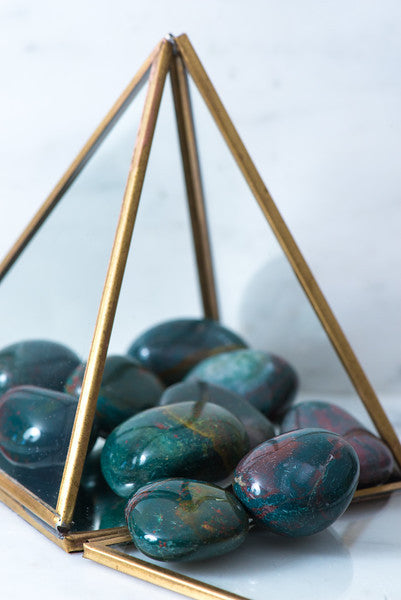 Tumbled Bloodstone - Sacred Light Soundbaths and Crystals