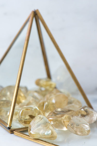 Tumbled Small Citrine - Sacred Light Soundbaths and Crystals