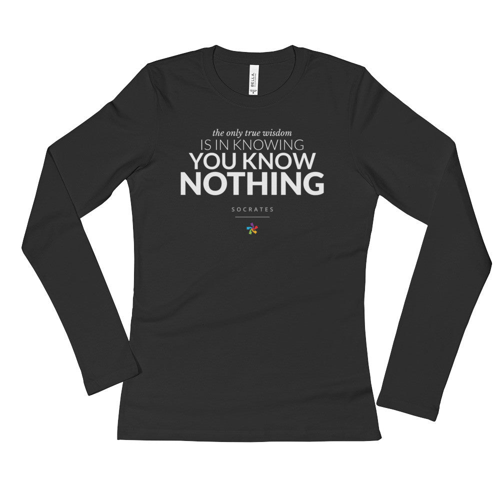 The Socrates #1 - Women's Long Sleeve T-Shirt