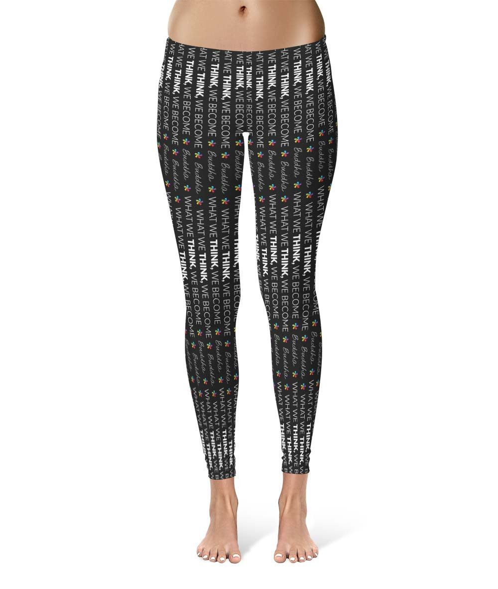 The Buddha #1 - Pattern Leggings