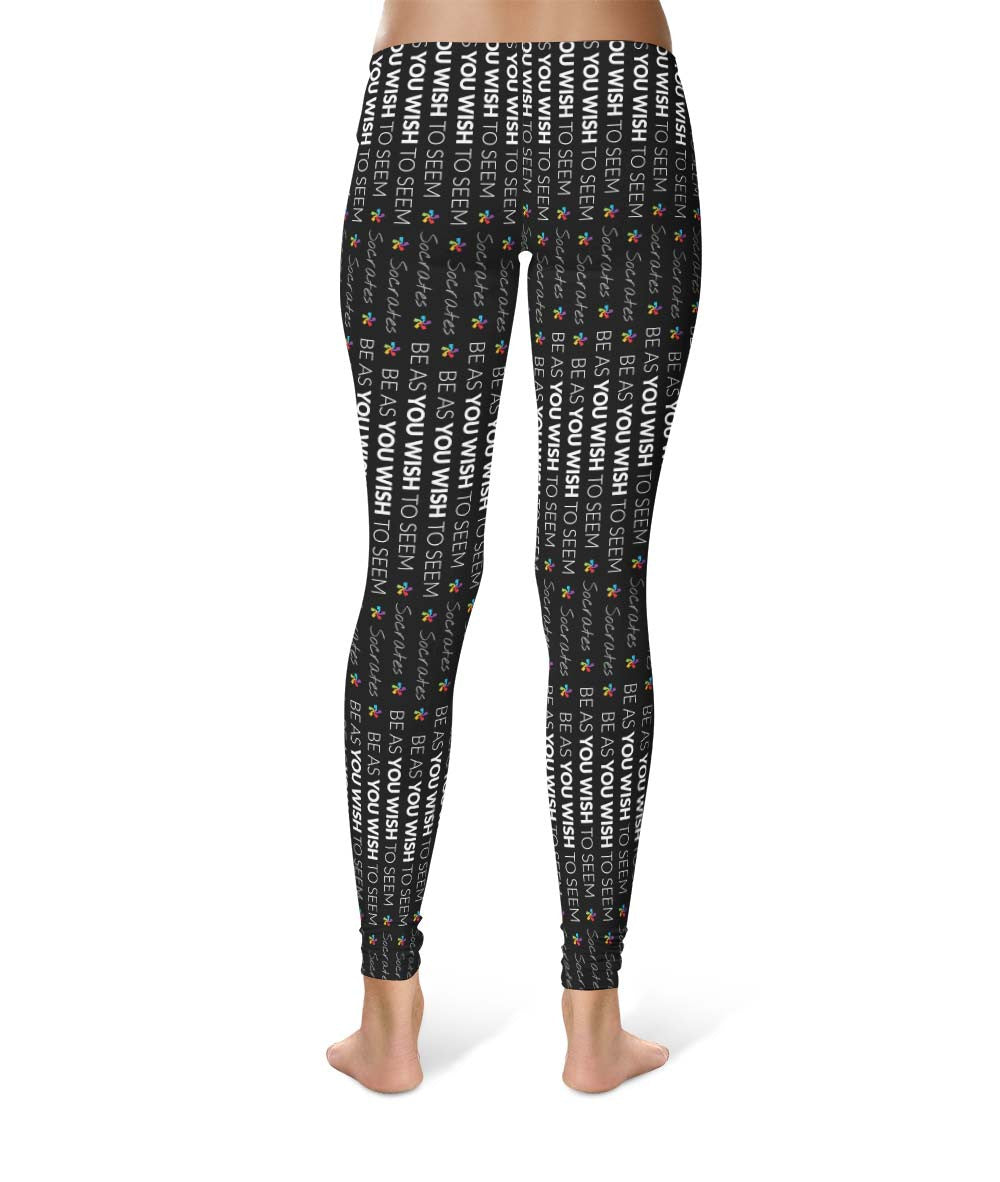 The Socrates #2 - Pattern Leggings