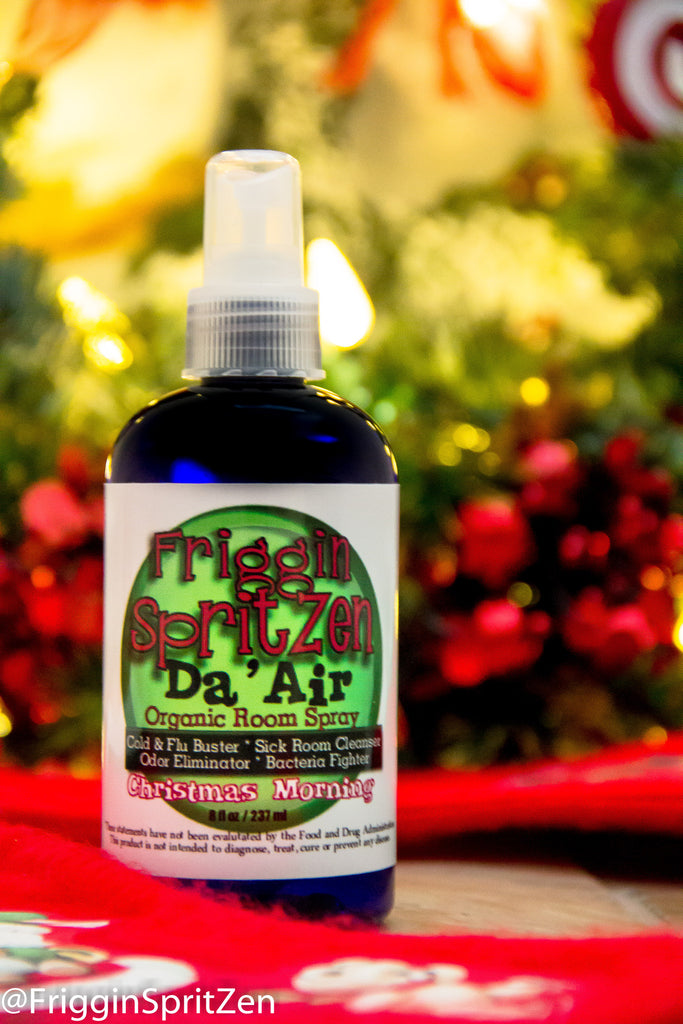 Christmas Morning - SpritZen Da' Air Room Spray -  Airborne Cold and Flu Prevention - Friggin SpritZen