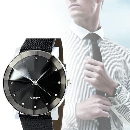 Stainless Steel Dial Clock MALE
