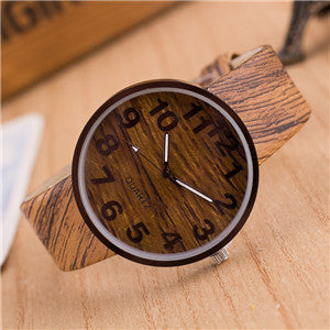 Vintage WOOD watch - FEMALE