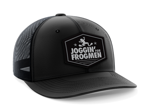 Joggin For Frogmen Snapback Trucker Hat
