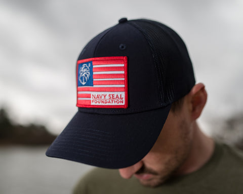 Trucker Hat - Multi Color Flag