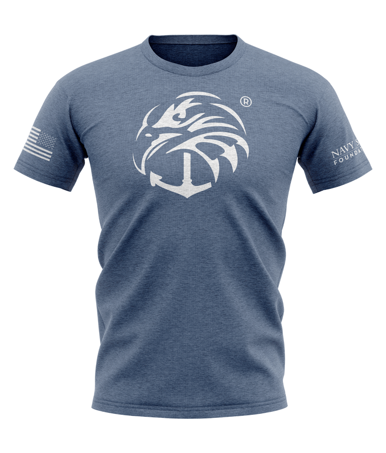Perfect Tri Tshirt - Navy Frost
