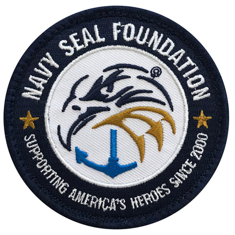 Navy Seal Foundation Patch w/Velcro Back