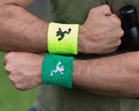 Joggin For Frogmen Wristbands