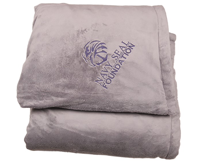 NSF Blanket-Grey/Blue