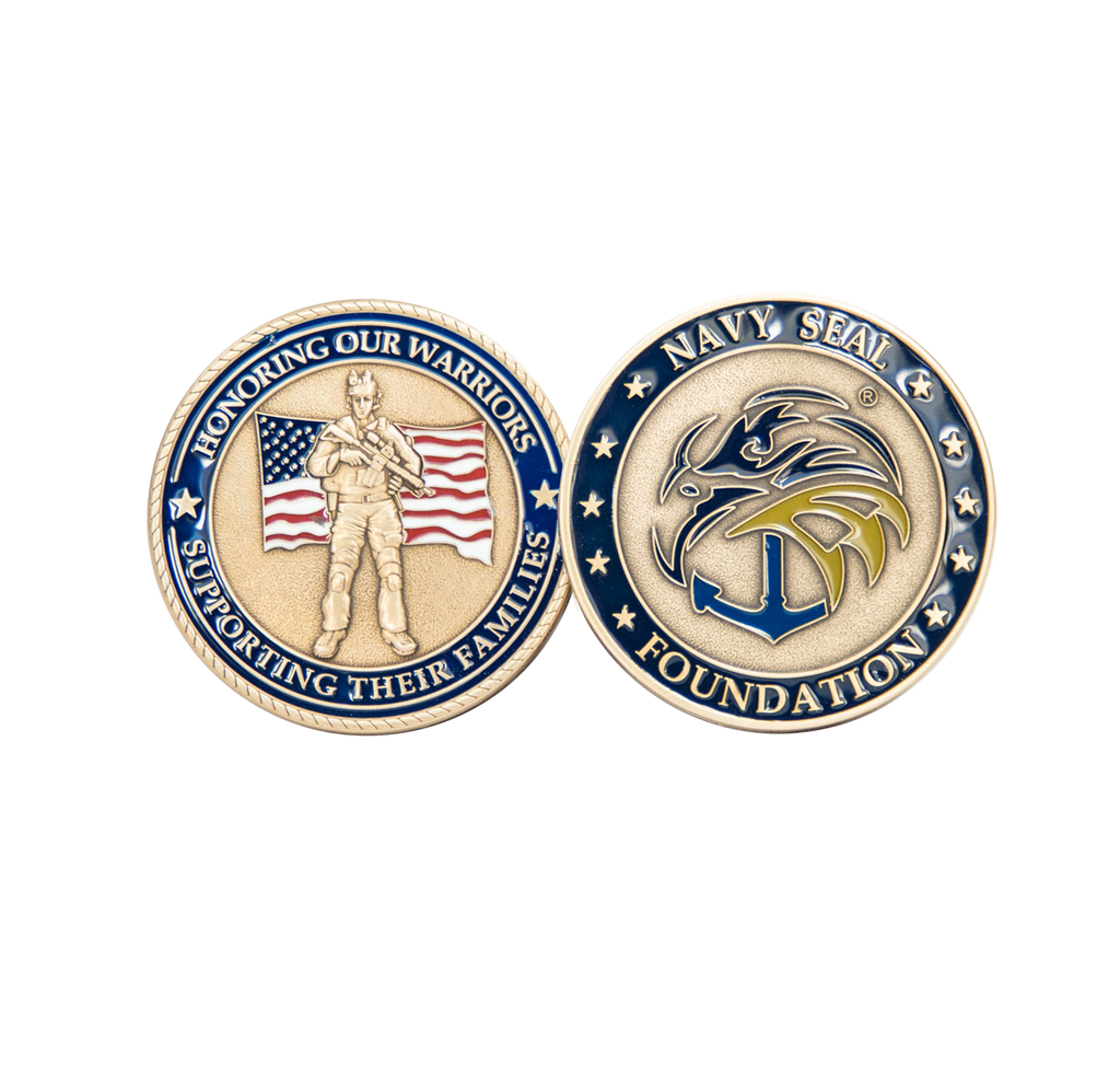 Navy SEAL Foundation Challenge Coin