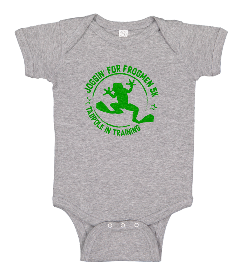 Joggin For Frogmen TadPole in Training Onesie