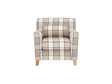 Ashleigh Accent Chair in Alderney Check