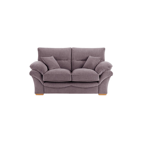 Chloe Medium Sofa High Back in Logan Fabric - Grey