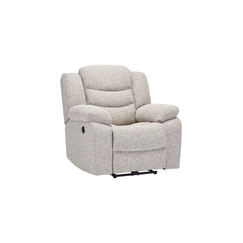 Grayson Armchair- Silver Fabric