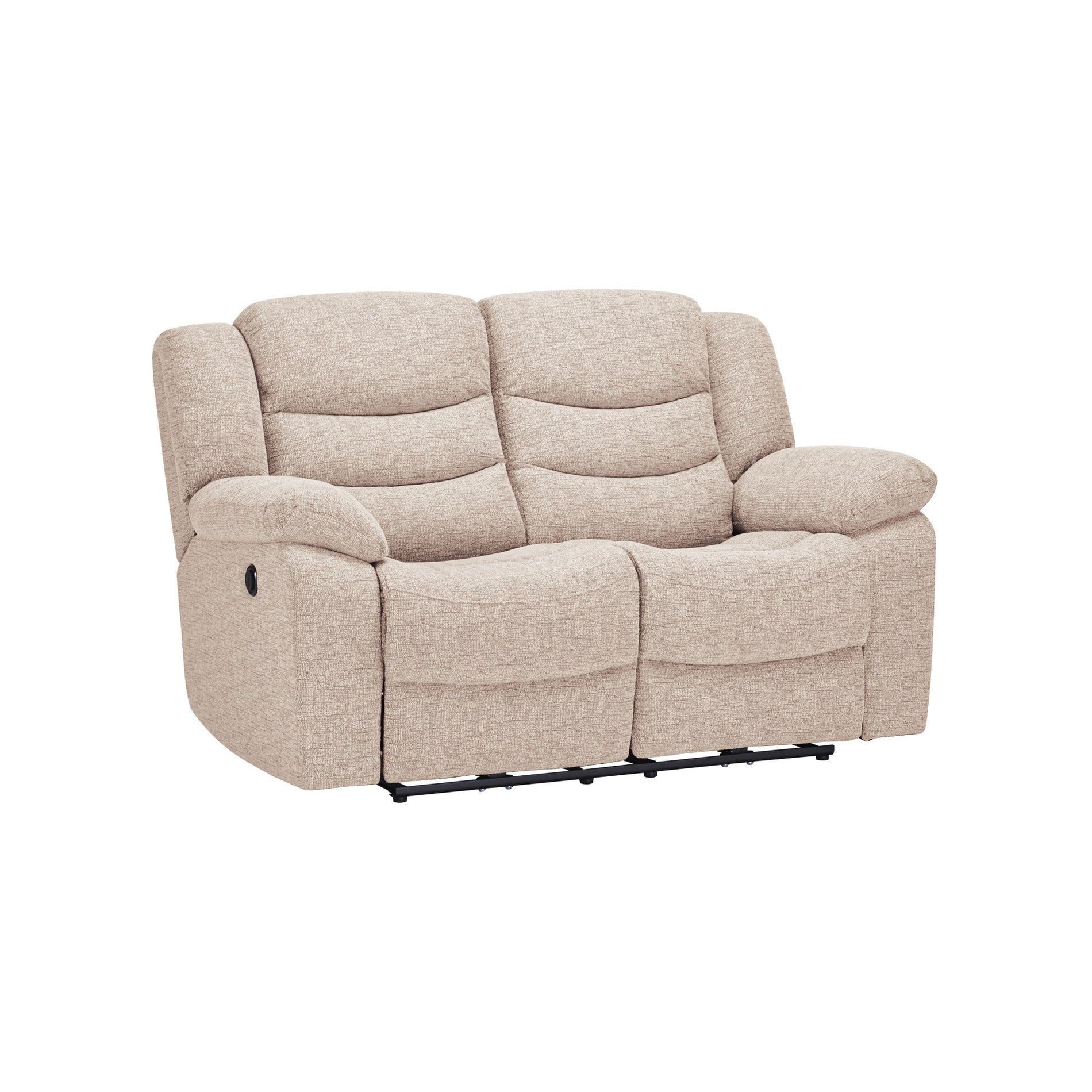 Grayson 2 Seater Electric Recliner Sofa Oatmeal Fabric – Sofa