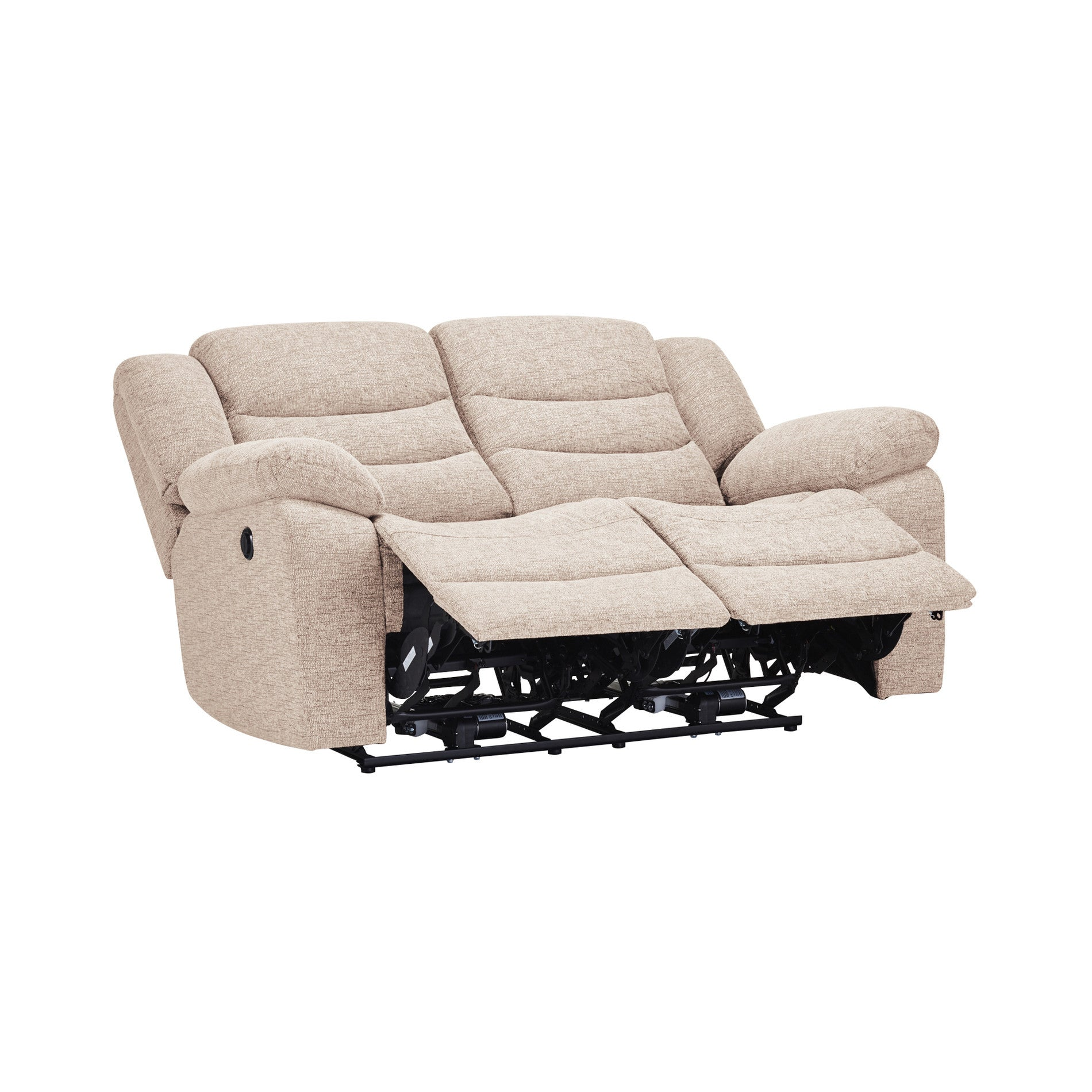 Grayson 2 Seater Electric Recliner Sofa - Oatmeal Fabric  sc 1 st  Sofa Store Spain - Shopify : two seater electric recliner sofa - islam-shia.org