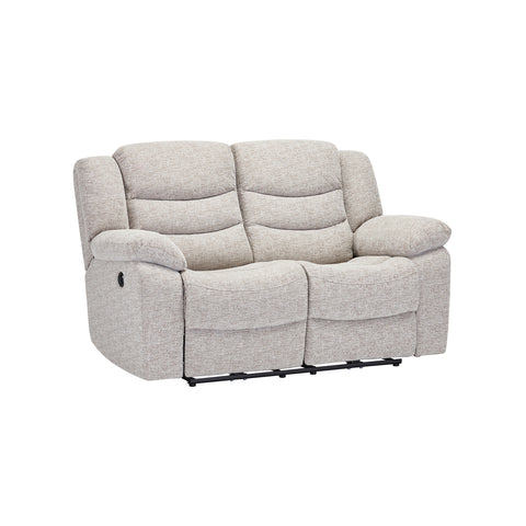 Grayson Medium Sofa - Silver Fabric