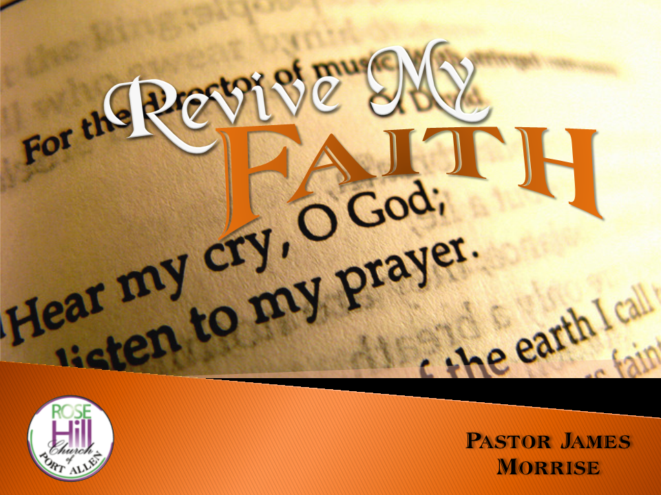 Revive My Faith