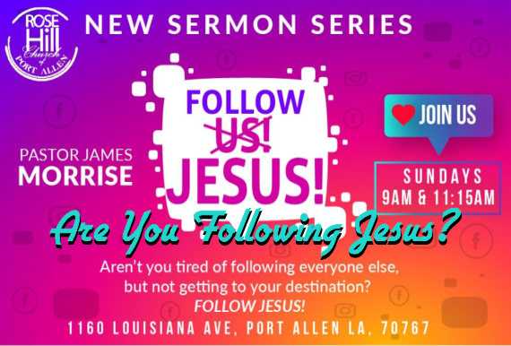 Are You Following Jesus?