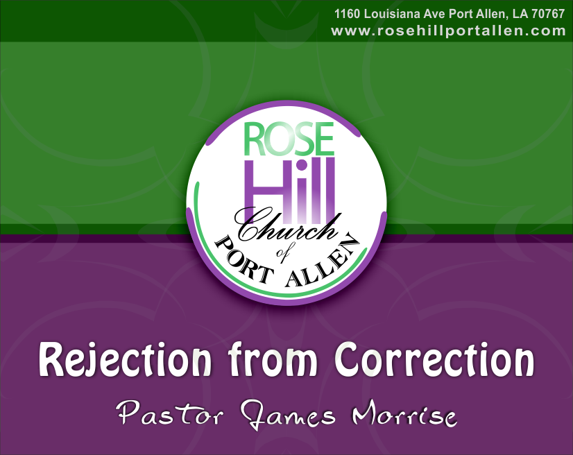 Rejection from Correction