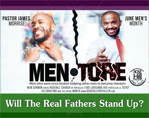 Will The Real Men Stand Up?
