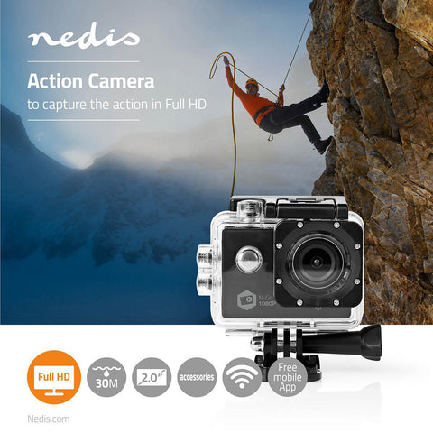WEB CAM Action Cam Full HD 1080p