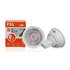 Lampadina LED GU10 6W 38° dimmerabile
