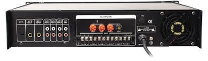 Amplificatore 6 zone 180 W con USB/SD, 3 AUX, 3MIC