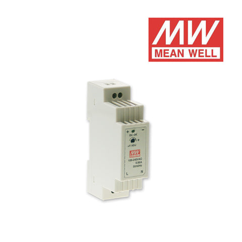 ALIMENTATORE SWITCHING PER GUIDA DIN MEAN WELL 24Vdc 75W 3.125A DR-75-24